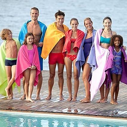 X de Sports Viajes nadar Senderismo rápido seca paños de microfibra Ultra Light playa/Gimnasia/Mano Super de superabsorbierende Toallas de mano: Amazon.es: ...