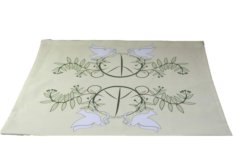 Yule Peace Wiccan or Pagan Altar Cloth Altar Cloth or Tarot Cloth