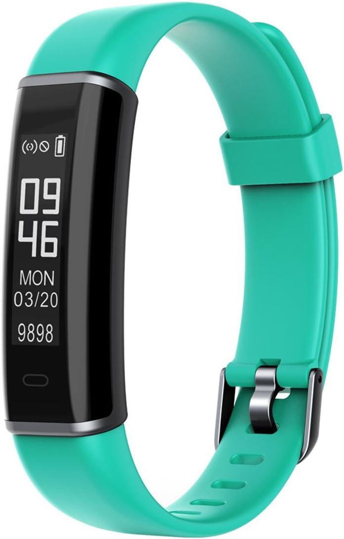 NSHK Smart Podómetro Pulsera Multifuncional Reloj Fitness Tracker Pulsera Physical Health Steward con Anti-Perdida Recordatorio Seguimiento Telefónico