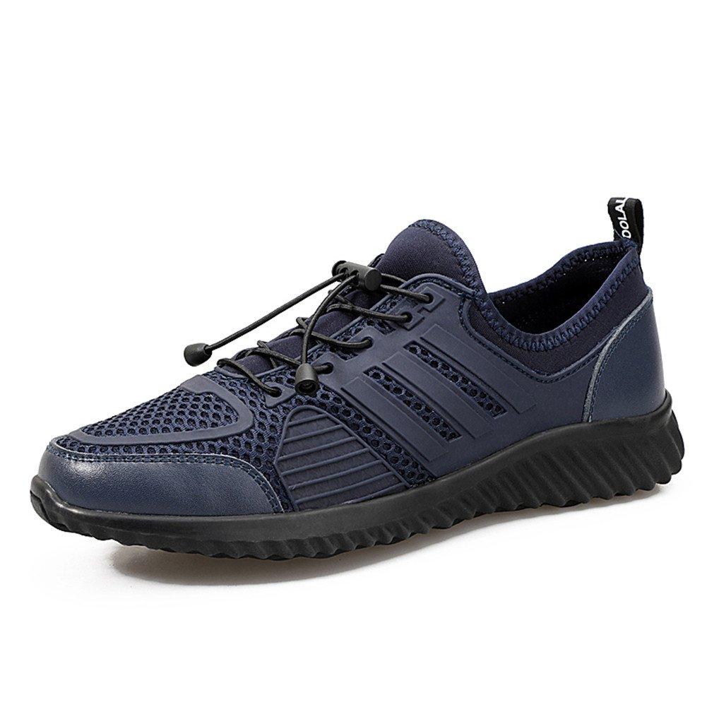 pretty nice 2e442 7e45a Aaron Men s Driving Premium Genuine Genuine Genuine Fashion Casual Shoes  6.5 US Blue B07FW32GMR 8a0b8b