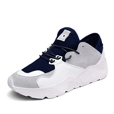 Summer air sports shoes/female net shoes,korean version of leisure flat bottom running shoes/students with thick soles of shoes-B Foot length=22.3CM(8.8Inch)