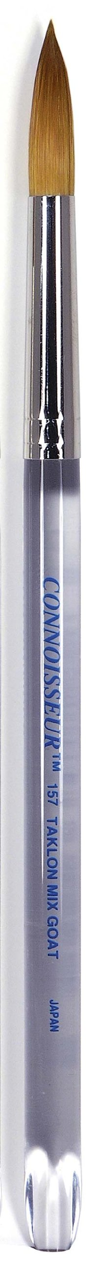 Connoisseur Gold Taklon Colossal Brush, #4 Round