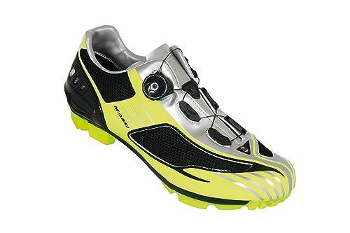 Massi Drake - Zapatillas de Ciclismo MTB Unisex, neón, Talla 43: Amazon.es: Zapatos y complementos