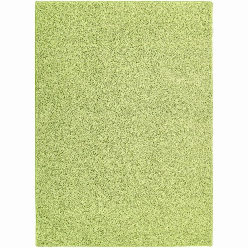 Super Area Rugs, Cozy Collection, Shag Rug (5ft. by 8 ft., Green)