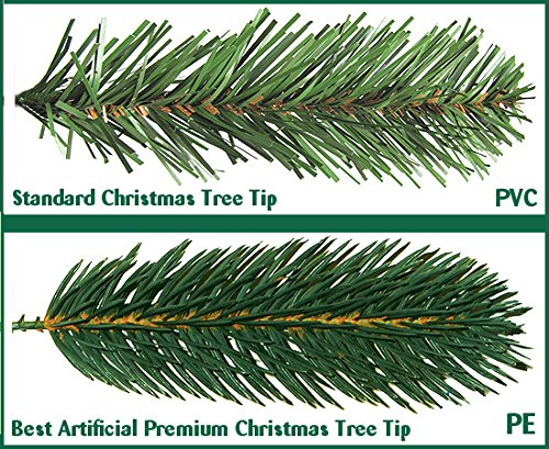 Best Artificial Premium 6ft / 180cm Real Feel Hinged Christmas ...