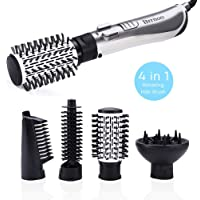 4 en 1 Automatique Ionique Brosse à Cheveux Redresseur de Cheveux Peigne Sèche-cheveux 1000-1250W