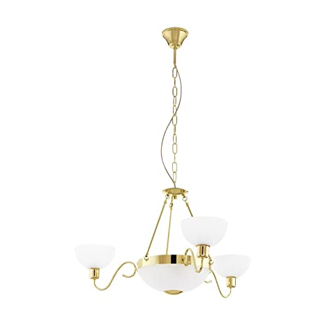 leuchts Cerca - Lámpara de araña (5 focos, estilo modernista ...