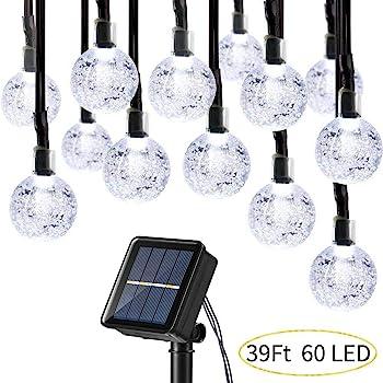 Joomer Globe Solar String Lights (upgraded version)