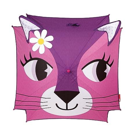 Janod - Gato Paraguas clásico de 72 cm, Color Rosa