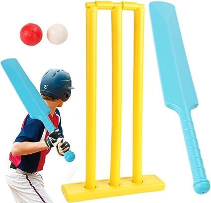 Ball Stumps and bat Gray-Nicolls Plastic Beach Garden Cricket Set