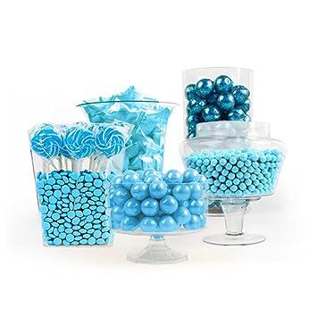 amazon com light blue candy buffet grocery gourmet food rh amazon com