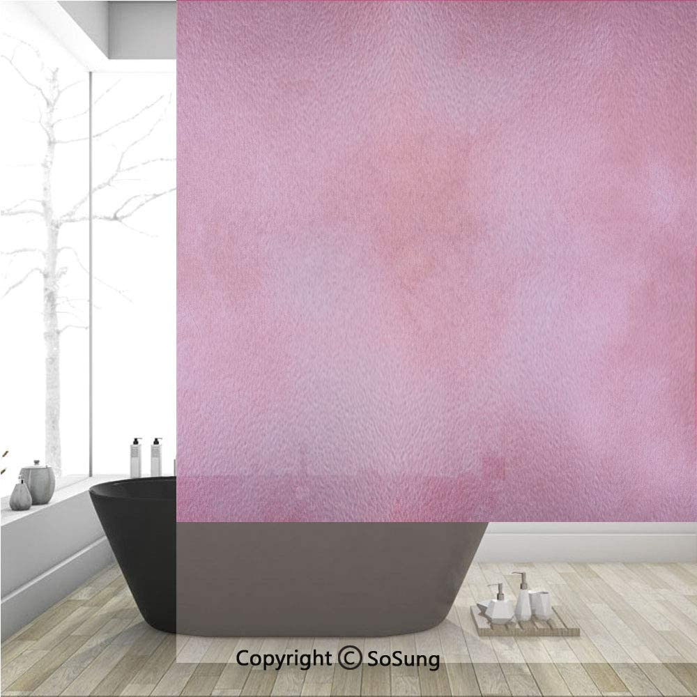 Películas decorativas 3D para ventanas con diseño de bauhaus, minimalista geométrico y moderno, azulejo inusual, sin pegamento, autoestática para el hogar, dormitorio, baño, cocina, oficina, 17.5 x 36 pulgadas: Amazon.es: Hogar