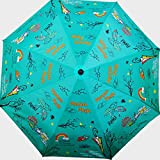 Cheeky Chunk umbrella Monsoon Magic Sea Green For Sale