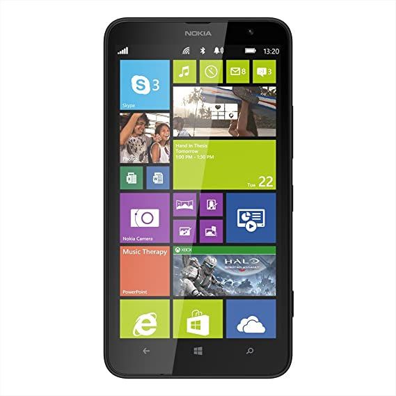 1f7e04e5254 Nokia Lumia 1320 Black Factory Unlocked GSM - International Version phone -  No Warranty: Amazon.com.mx: Electrónicos