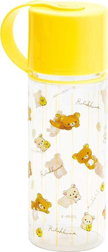 Rilakkuma PY69501 - Estuche con forma de botella (18 cm), color amarillo: Amazon.es: Oficina y papelería