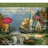 Thomas Kinkade Special Collector's Edition with Scripture 2016 Deluxe Wall Calen: Mountain Majesty