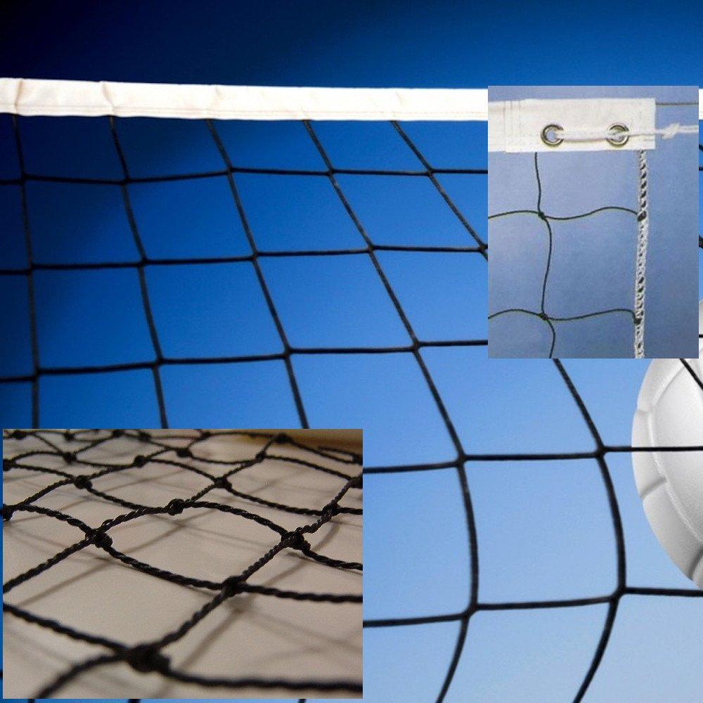 Red de voleibol modelo escolar. Polietileno torcido 2mm ø Redes Deportivas On Line