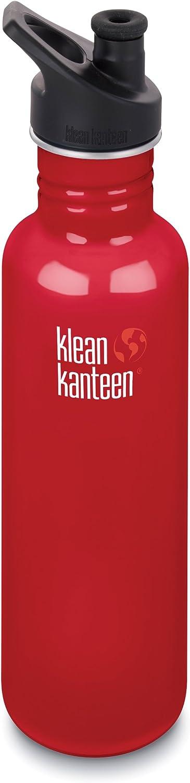 Details about  /KLEAN KANTEEN JumpStartMD 800ml Steel Canteen BOTTLE WITH SPORT CAP 3.0 27oz
