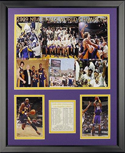 Los Angeles Lakers Framed - Legends Never Die Los Angeles Lakers 2009 Champs Framed Photo Collage, 16