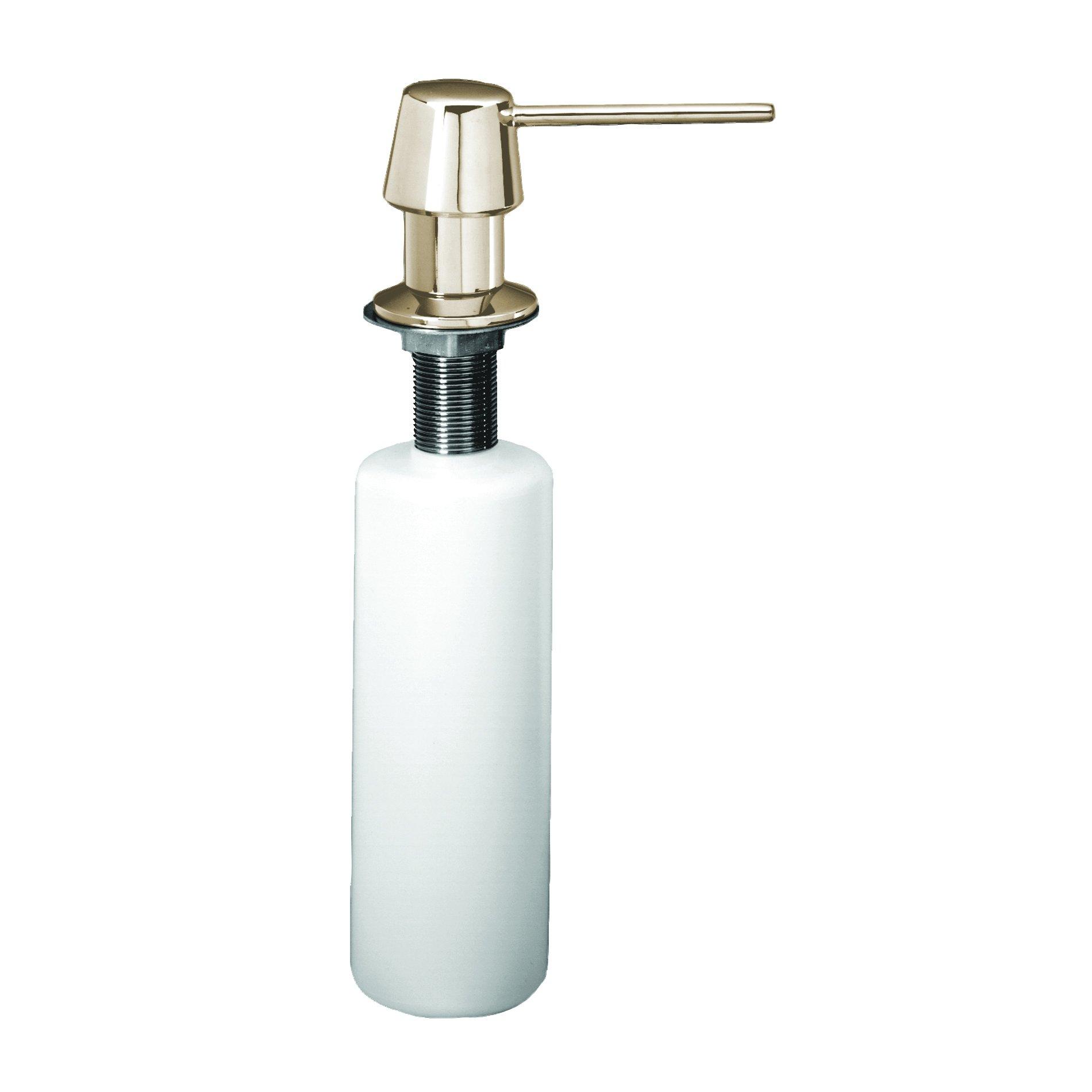 Westbrass R217-05 Standard Soap/Lotion Dispenser, Polished Nickel