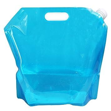 2x5L + 2x10L Tebery 4 x Wasserkanister faltbar Tragbar Faltbarer Trinkwasser Wasserbeh/älter Wasse