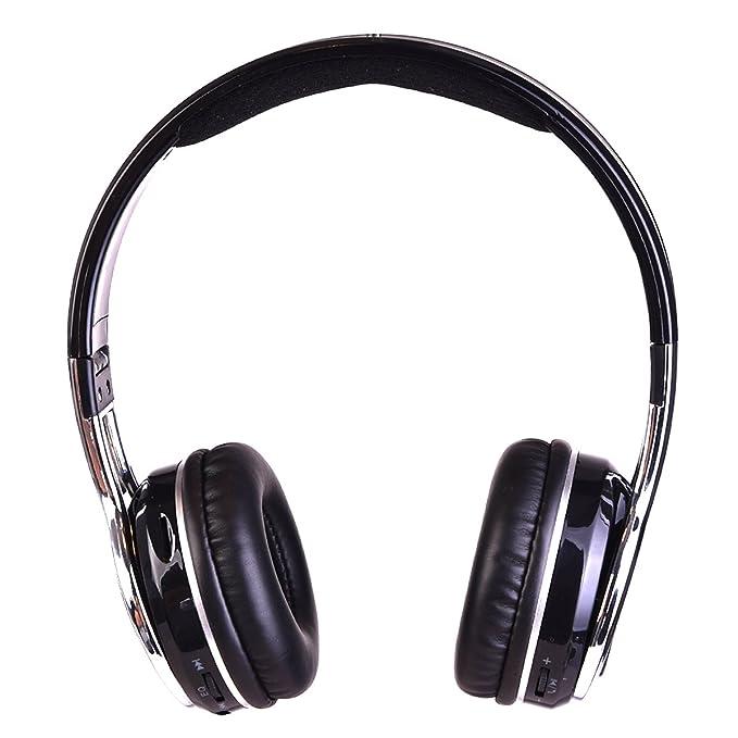 Amazon.com: Contixo KB2600 Kid Safe 85db Foldable Wireless Bluetooth Headphone Built-in Microphone, Micro SD Card Music Player, FM Stereo Radio (Black) ...