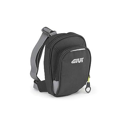 Givi EA109 Easy Bag Bolsillo de Pierna Negro con Dos Ranuras, Volumen 1 Litro, Carga Máxima 1 Kg