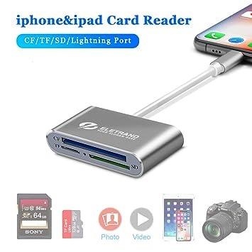 Lector de Tarjetas SD/CF/Micro SD cámara SD Card Reader USB ...