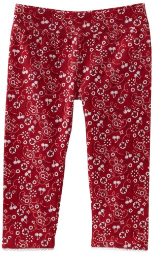 Hartstrings Little Girls' Toddler Printed Capri Legging