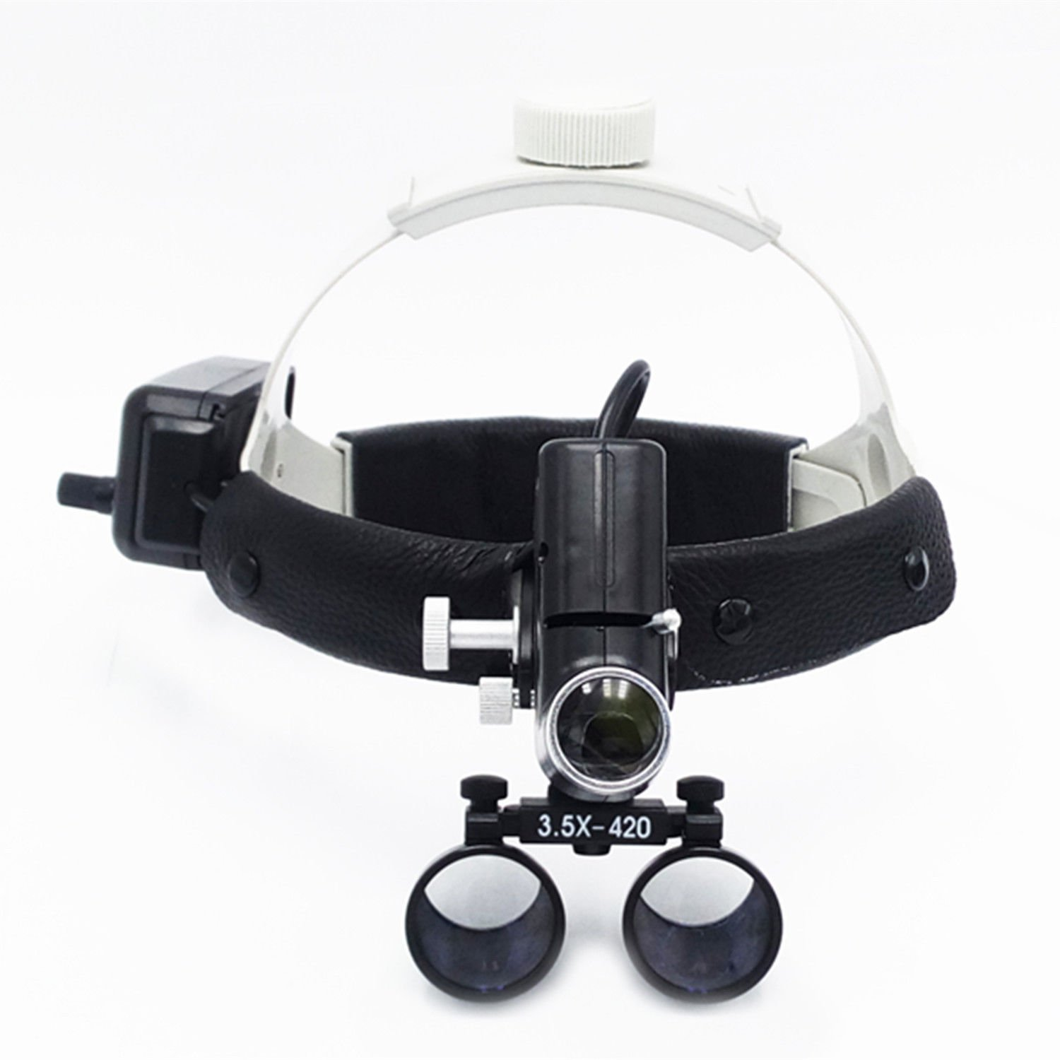 EAST Dental Surgical Medical 3.5X420mm Headband Loupe with LED Headlight DY-106( Black) by EAST DENTAL (Image #2)