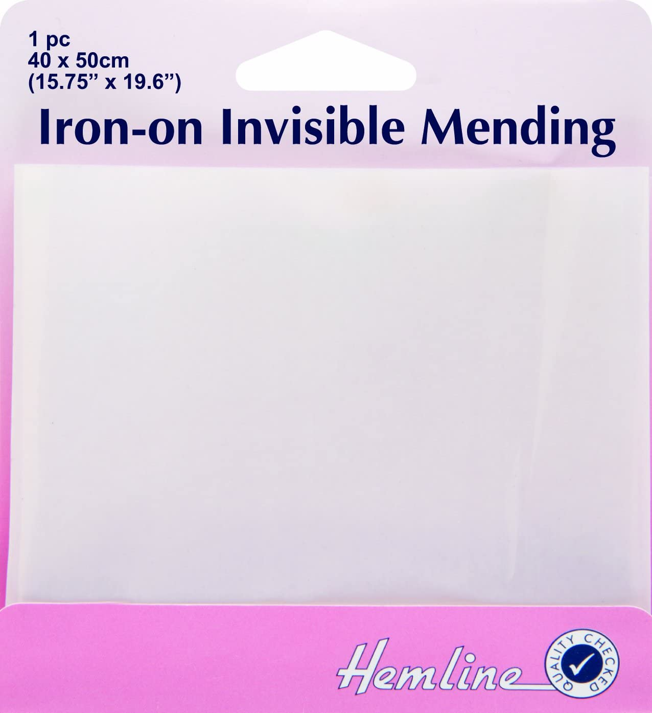 Hemline Iron-On Invisible Mending 40x50cm 1pc