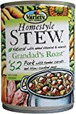 Variety Homestyle Recipes STEW Grandad's Roast with Pork Natural Dog Food, 12/13.2-Ounce