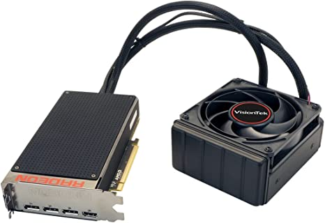 Amazon.com: VisionTek Radeon R9 Fury X 4 GB HBM 4 m (3 x DP ...