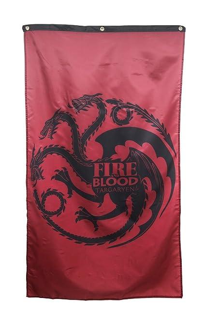 Amazon Com Game Of Thrones Home Decor Banner Targaryen House