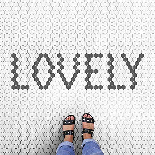 Metro Hex Tile Stencil - DIY Honeycomb Tile Pattern - Reusable Stencil for Room Makeovers