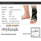 HipStone 3D Weaving Elastic Nylon Strap Ankle