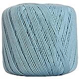 Crochet Thread - SIZE 3 - Color 19 - LT BLUE - 2 Sizes - 27 Colors Available