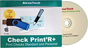 Check Print'R+ : Check Printing for Mac, Business or Wallet size, one or three per page.