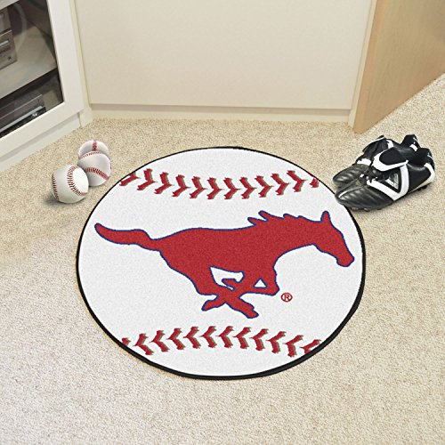 (StarSun Depot Texas Baseball Mat Southern Methodist University 27