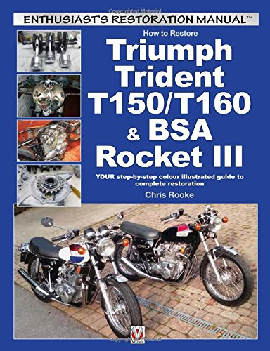 How to Restore Triumph Trident T150/T160 & BSA Rocket III: YOUR step-by-step colour illustrated guide to complete restoration (Enthusiast's Restoration Manual)