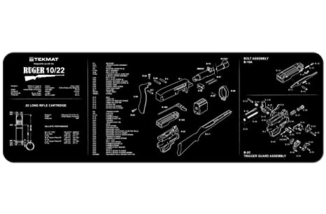 Amazon Tekmat Ruger 1022 Cleaning Mat 12 X 36 Thick