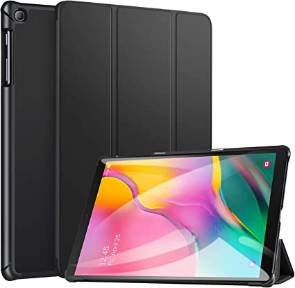 ZtotopCase for Samsung Galaxy Tab A 10.1 2019, Ultra Slim Lightweight Trifold Stand Smart Folio Case Hard Cover for Samsung Tab A 10.1 Inch Tablet ...