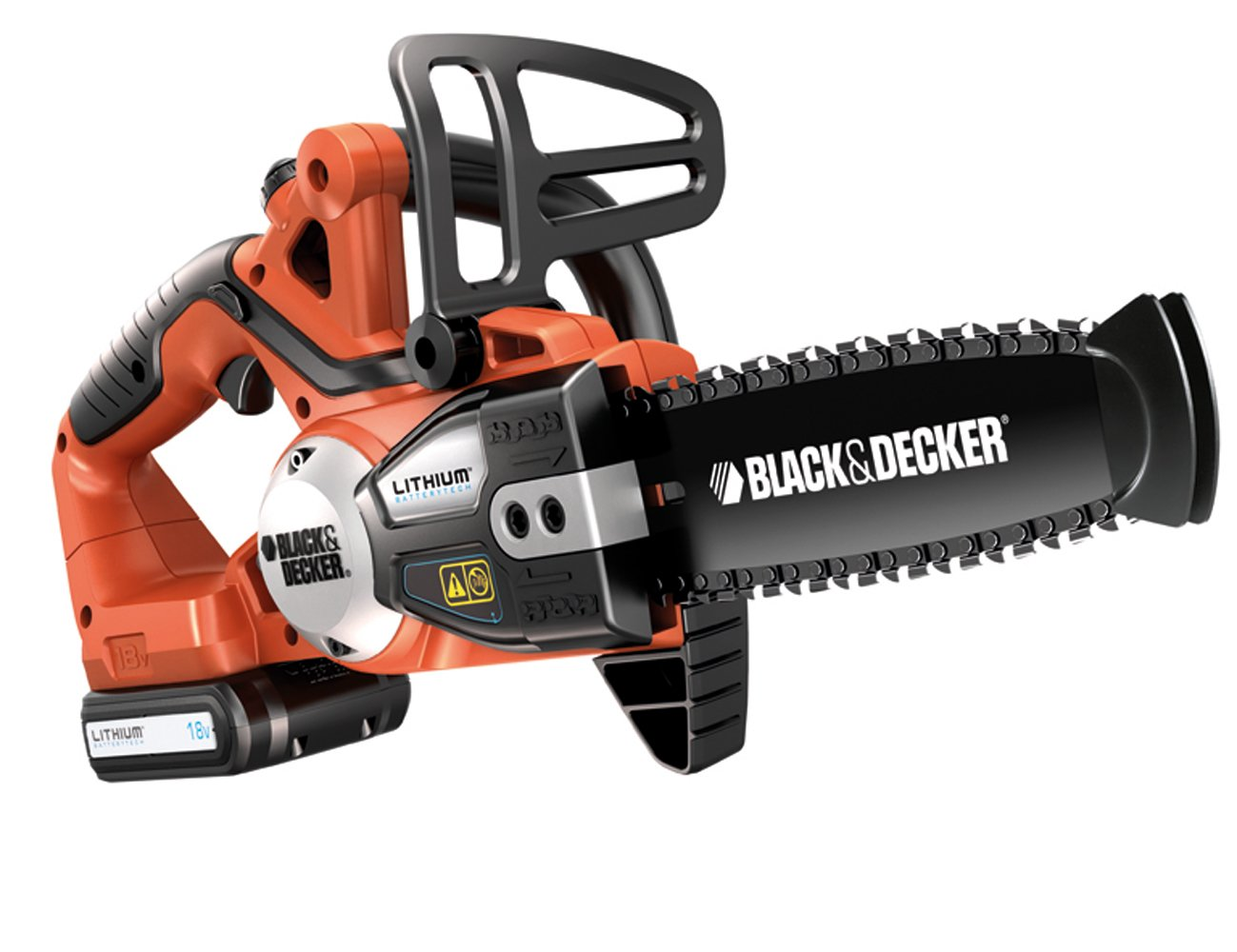 Black + Decker Black + Decker Akku-Kettensäge GKC1820L orange