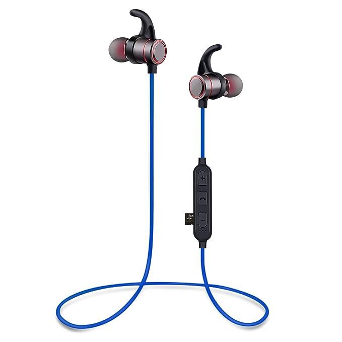 Wediamond - Auriculares Bluetooth con soporte para tarjeta ...