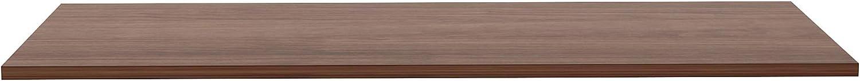 24 x60 Walnut Lorell Utility Table Top-EAHeight Adj Standard Tabletop