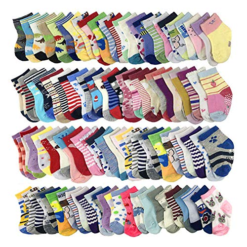 Baby Girls Socks Wholesale 20 Pairs Baby Socks Cotton Girl 1-3 T from WAFUNNE