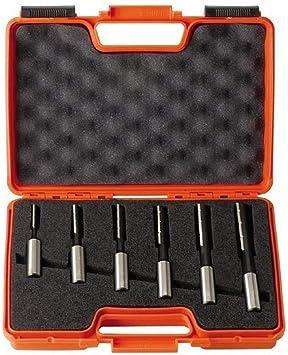 CMT Orange Tools 172.001.00 - Estuche 6 brocas cortes rectos s 13x50 kss dx: Amazon.es: Bricolaje y herramientas