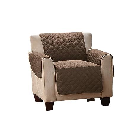Furein - Funda cubre sillón, 175x161cm, reversible, protector, cubre sillón orejero, sofá tamaño 1 plaza, butaca, protege sillón relax, lavable