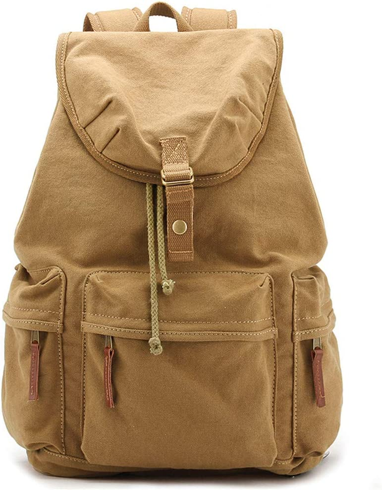 AXEDENRRT Backpack Photography Bag Casual Retro Anti-Theft Fashion Outdoor Travel Canvas Bag Waterproof Shockproof Tablet Laptop Bag