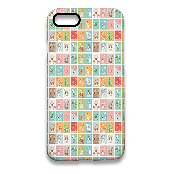 best website 32af6 410da Amazon.com: Case for iPhone 7 iPhone 8 Advent Calendar Case ...